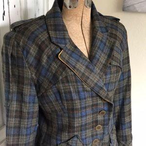 L.A.M.B. Wool military style jacket. Size 6